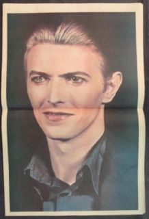 David Bowie Isolar 1976 US Tour Program Original