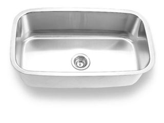 Undermount Stainless Steel Single Bowl Sink Model 3118