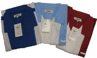 Retro Classic Solid Panel Charlie Sheen Camp Bowling Shirt 4XL