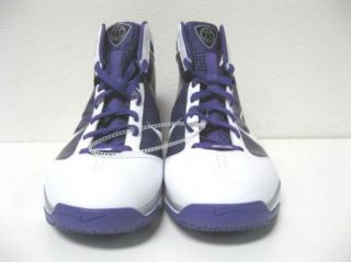 New Mens Nike Zoom Flywire Purple Basketball Shoes 17