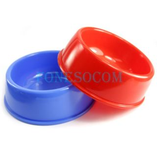 Dog Cat Bowls Pet Bowls Dishes Plastic Water Feeding Bowls Hot