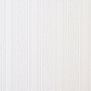 Broad Stripes Paintable Wallpaper Brewster 59003