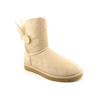UGG Australia Bailey Button Beige Boots Shoes Sz 9