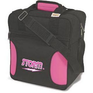 Storm 1 Ball Bowling Bag Color Pink Black