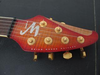 Brian Moore Guitars Iguitar Im 1 13 MIDI Electric Guitar w Hard Case