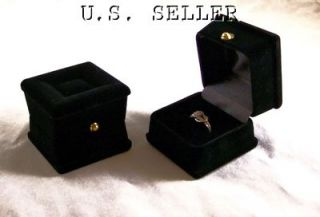 other available images image 1 exquisite flocked ring boxes case