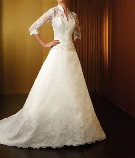 Princess Kate Middleton WEDDING Apparel bridal GOWN Dresses CHEAP HOT