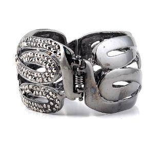 crystal rhinestone bridal new style cuff bracelet bangle jewelry