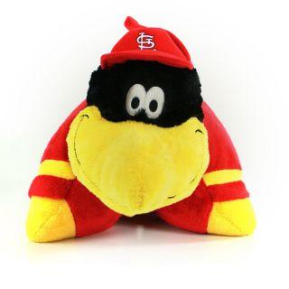 St Louis Cardinals Baseball Fred Bird Pillow Pet 18
