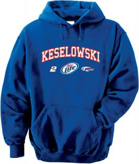Brad Keselowski 2 Miller Lite Restrictor Hooded Sweatshirt