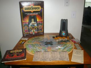 DARK TOWER BOARD GAME NICE CONDITION MB MILTON BRADLEY LIGHTS SOUNDS