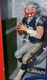 TOM BRADY #12 PATRIOTS 12 NFL MCFARLANE TOYS ACTION FIGURE SERIES