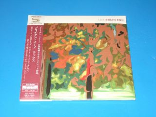 2012 Limited Brian Eno Lux Japan SHM Mini LP CD