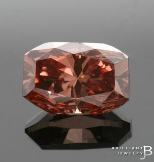 43ct Fancy Deep Orangy Pink GIA Certified Loose Engagement Diamond