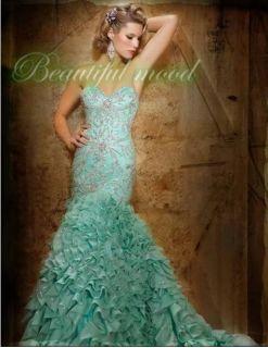 Prom dresses Wedding Bridal Gown Bridesmaid Evening Party Dress Custom