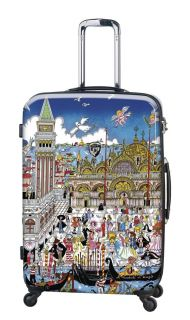 Heys Fazzino Collection Carnevale Venezia 22 Carry On Luggage Bag NWT