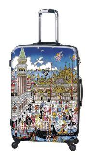 Heys Fazzino Collecion Carnevale Venezia 22 Carry On Luggage Bag NW