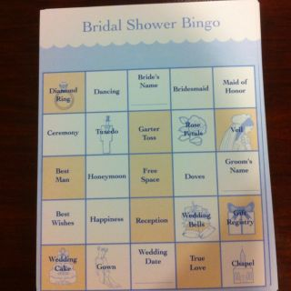 Bridal Shower Bingo Game 37 Cards 1 Answer Sheet