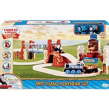 NEW WOODEN THOMAS TRAIN BRIDGE MISTY ISLAND ADVENTURE SET RESCUE DASH