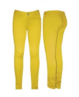 New Girls Domino Girl Bright Yellow Skinny Jeans 2 3 3 4 5 5 6 Years