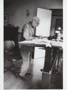 Photo Postcard Author Saul Bellow Brattleboro VT 1995