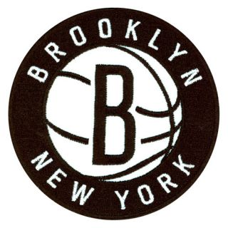 Brooklyn New York Nets Primary Team Logo Official NBA Jersey 2012 2013