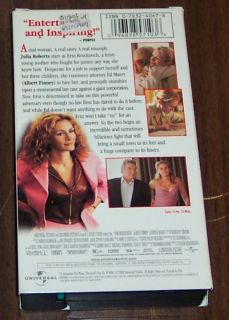Julia Roberts Films VHS Pretty Woman Brockovich