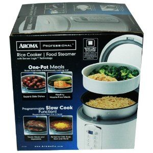 Aroma 3 Quart or 4 20 Cups Rice Cooker Food Steamer