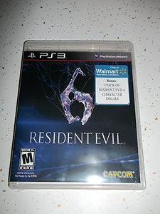 Resident Evil 6 (Sony Playstation 3, 2012) PS3 Video Game