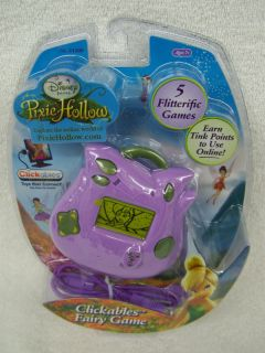 New Disney Fairies Pixie Hollow Clickables Fairy Game