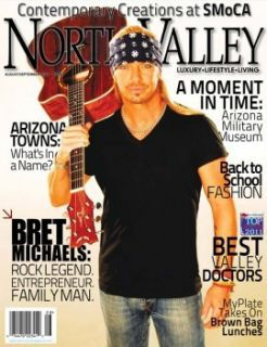 Bret Michaels Collectible Magazine w Guitar Rare Celebrity Apprentice