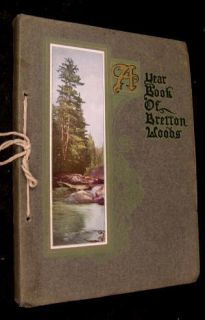 Book of Bretton Woods NH MT Washington 1908 White Mts