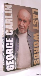 Last Words   George Carlin   1st/1st   Autobiography   2009   Comedian
