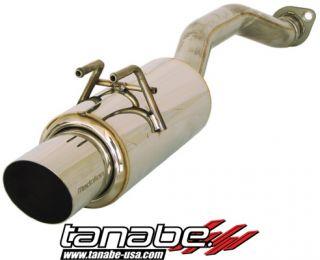 Tanabe Medalion Concept G Exhaust 2007 Honda Civic SI Sedan