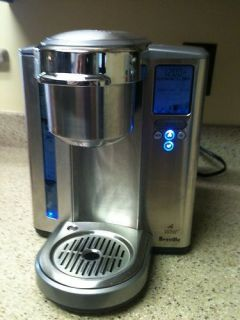 Breville Gourmet One Cup Stainless Steel Coffee Maker