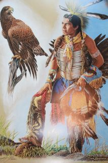 Dan Buffler Brewer Native American Indian Western Eagle Print Art