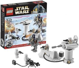 LEGO7749 Star Wars Classic Echo Base Brand New 5MINFI SEALED Retired