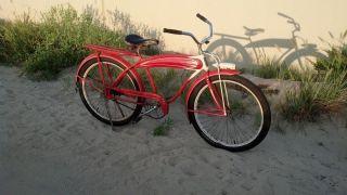 Elgin Mens Bicycle 1941 4 Star Deluxe Pre War Tank Skip Tooth Bicycle