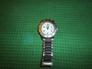 Swiss Army Victorinox Mens Stainless Steel Wrist Watch