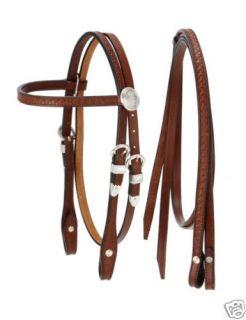 Miniature Mini Horse Fancy Show Leather Bridle Bit