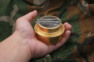 ESBIT Portable Outdoor Camping Alcohol Brass Stove Burner
