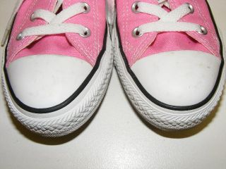 Pink Converse All Star Shoes Girls Youth Size 2 Lightly Worn Darling