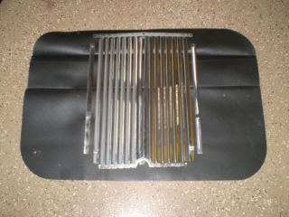 MG TD Grille Excellent Shape Used Chrome