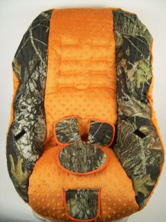 BRITAX MARATHON/ ROUNDABOUT CAR SEAT COVER Mossy oak Hot orange camo