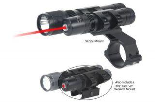 BSA Optics Stealth Tactical 635 Red Laser Sight 140 Lum Light STSLLCP