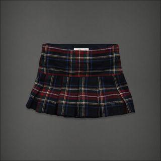Abercrombie Fitch Women Brittan Plaid Skirt Size 2
