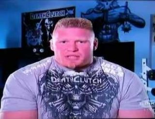 Death Clutch Brock Lesnar Skeleton Collar UFC Shirt LRG