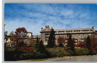 Postcard The Inn Buck Hill Falls Pennsylvania PA