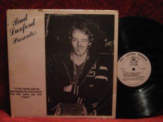 BUD LUXFORD Presents VANCOUVER PUNK COMPILATION LP Vinyl Record Album