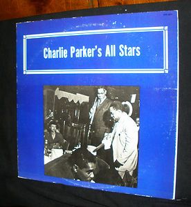 Parkers All Stars 1950, Dizzy Gillespie, Bud Powell, Private Pressing